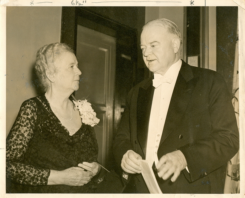 Martha Berry and President Herbert Hoover